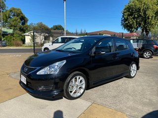 2013 Nissan Pulsar C12 SSS Black 6 Speed Manual Hatchback