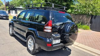 2004 Toyota Landcruiser Prado KZJ120R GXL Black 5 Speed Manual Wagon
