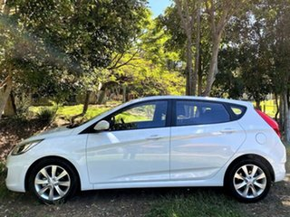 2019 Hyundai Accent RB6 MY19 Sport Chalk White 6 Speed Manual Hatchback