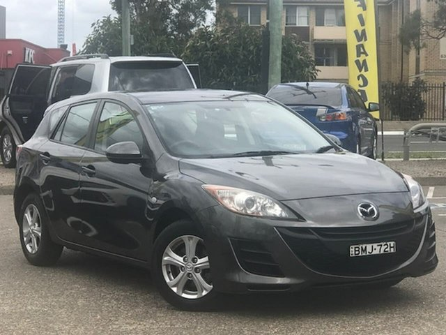 Used Mazda 3 BL10F1 Maxx Activematic Liverpool, 2009 Mazda 3 BL10F1 Maxx Activematic Grey 5 Speed Sports Automatic Hatchback