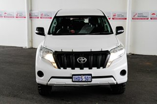 2017 Toyota Landcruiser Prado GDJ150R MY16 GX (4x4) Glacier White 6 Speed Automatic Wagon