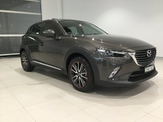 2016 Mazda CX-3 DK4W7A Akari SKYACTIV-Drive i-ACTIV AWD Grey 6 Speed Sports Automatic Wagon.