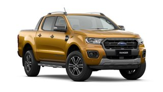2020 Ford Ranger PX MkIII 2021.25MY Wildtrak Saber 10 Speed Sports Automatic Double Cab Pick Up