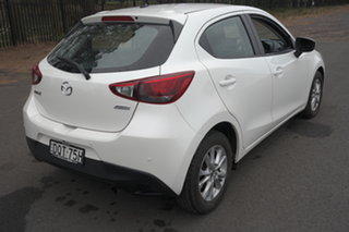 2017 Mazda 2 DJ2HAA Maxx SKYACTIV-Drive White 6 Speed Sports Automatic Hatchback