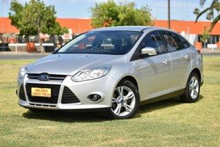 2012 Ford Focus LW MkII Trend PwrShift Silver 6 Speed Sports Automatic Dual Clutch Sedan.