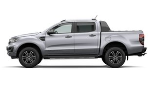 2021 Ford Ranger PX MKIII 2021.2 Wildtrak Aluminium Silver 6 Speed SMD Double Cab Pick Up.