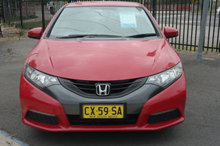 2013 Honda Civic 9th Gen MY13 VTi-S Red 5 Speed Sports Automatic Hatchback.