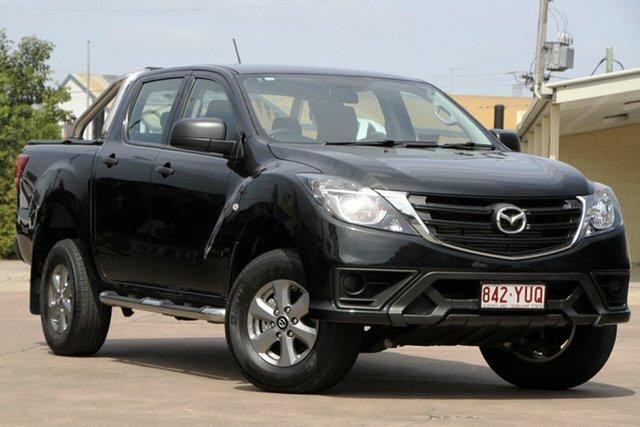 Used Mazda BT-50 UR0YG1 XT 4x2 Hi-Rider Bundamba, 2019 Mazda BT-50 UR0YG1 XT 4x2 Hi-Rider Jet Black 6 Speed Sports Automatic Utility