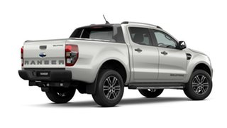 2021 Ford Ranger PX MkIII 2021.25MY Wildtrak Alabaster White 10 Speed Sports Automatic