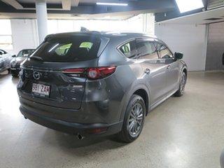 2018 Mazda CX-8 KG4W2A Sport SKYACTIV-Drive i-ACTIV AWD Grey 6 Speed Sports Automatic Wagon
