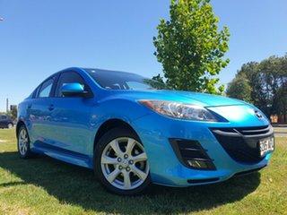 2009 Mazda 3 BL10F1 Maxx Sport Celestial Blue 6 Speed Manual Sedan.