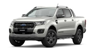 2021 Ford Ranger PX MkIII 2021.25MY Wildtrak Alabaster White 10 Speed Sports Automatic.