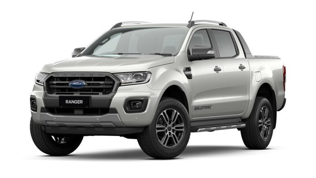 New Ford Ranger PX MkIII 2021.25MY Wildtrak Homebush, 2021 Ford Ranger PX MkIII 2021.25MY Wildtrak Alabaster White 10 Speed Sports Automatic