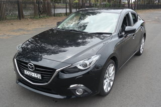 2014 Mazda 3 BM5236 SP25 SKYACTIV-MT GT Black 6 Speed Manual Sedan.