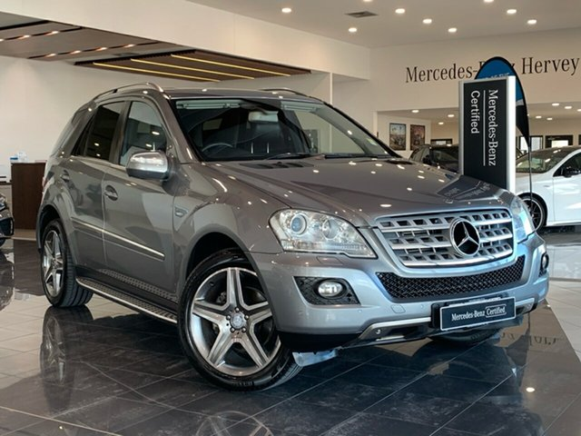 Used Mercedes-Benz M-Class W164 MY10 ML350 CDI BlueEFFICIENCY Hervey Bay, 2010 Mercedes-Benz M-Class W164 MY10 ML350 CDI BlueEFFICIENCY Grey 7 Speed Sports Automatic Wagon