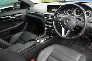 2015 Mercedes-Benz C180 W204 MY15 Avantgarde Black 7 Speed Automatic G-Tronic Coupe