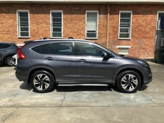 2016 Honda CR-V RM Series II MY17 Limited Edition Grey 5 Speed Automatic Wagon.