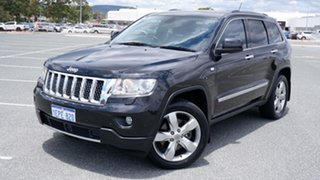 2013 Jeep Grand Cherokee WK MY2013 Overland Black 6 Speed Sports Automatic Wagon.