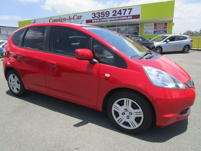 Used Honda Jazz GE MY10 VTi Kedron, 2009 Honda Jazz GE MY10 VTi Red 5 Speed Automatic Hatchback