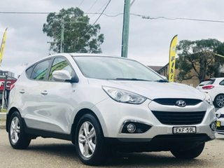 2013 Hyundai ix35 LM2 SE Silver, Chrome 6 Speed Sports Automatic Wagon