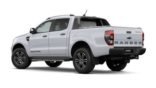 2020 Ford Ranger PX MkIII 2021.25MY Wildtrak Arctic White 10 Speed Sports Automatic