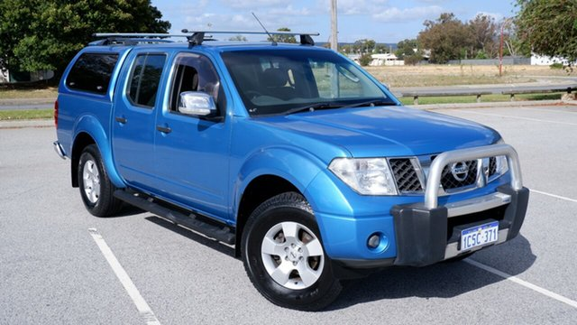 Used Nissan Navara D40 ST-X Maddington, 2007 Nissan Navara D40 ST-X Blue 6 Speed Manual Utility