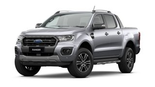 2020 Ford Ranger PX MkIII 2021.25MY Wildtrak Silver 10 Speed Sports Automatic Double Cab Pick Up.