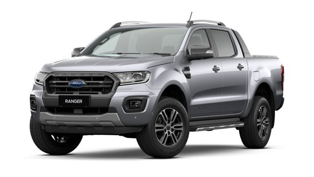 New Ford Ranger PX MkIII 2021.25MY Wildtrak Newstead, 2020 Ford Ranger PX MkIII 2021.25MY Wildtrak Aluminium Silver 10 Speed Sports Automatic