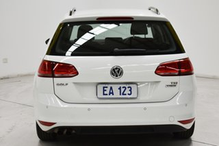 2017 Volkswagen Golf VII MY17 92TSI DSG Trendline White 7 Speed Sports Automatic Dual Clutch Wagon