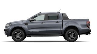 2021 Ford Ranger PX MkIII 2021.25MY Wildtrak Meteor Grey W/ Black Wheel Pac 6 Speed Sports Automatic.
