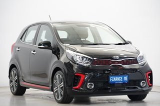 2020 Kia Picanto JA MY20 GT Black 5 Speed Manual Hatchback.