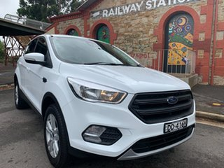 2019 Ford Escape ZG 2019.25MY Ambiente White 6 Speed Sports Automatic SUV.