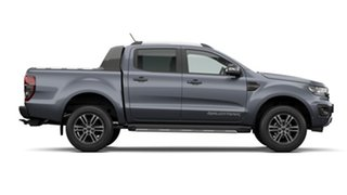 2020 Ford Ranger PX MkIII 2021.25MY Wildtrak Meteor Grey 10 Speed Sports Automatic