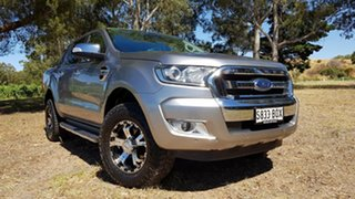 2016 Ford Ranger PX MkII XLT Double Cab Aluminium 6 Speed Sports Automatic Utility.