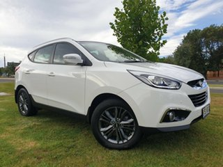 2014 Hyundai ix35 LM3 MY14 Trophy White 6 Speed Sports Automatic Wagon.