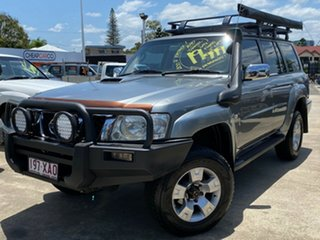 2007 Nissan Patrol GU 5 MY07 ST-S Silver 4 Speed Automatic Wagon