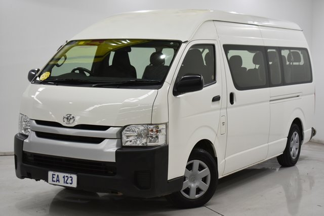 Used Toyota HiAce KDH223R Commuter High Roof Super LWB Brooklyn, 2016 Toyota HiAce KDH223R Commuter High Roof Super LWB White 4 Speed Automatic Bus