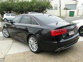 2014 Audi A6 4G MY14 S Tronic Quattro Black 7 Speed Sports Automatic Dual Clutch Sedan.