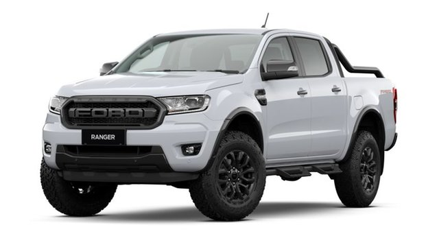 New Ford Ranger PX MkIII 2021.75MY FX4 Max Essendon Fields, 2021 Ford Ranger PX MkIII 2021.75MY FX4 Max Arctic White 10 Speed Sports Automatic