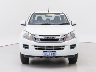 2016 Isuzu D-MAX TF MY15.5 SX (4x4) White 5 Speed Automatic Crew Cab Chassis.