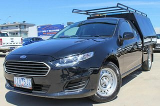 2016 Ford Falcon FG X Super Cab Black 6 Speed Sports Automatic Cab Chassis.