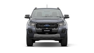 2020 Ford Ranger PX MkIII 2021.25MY Wildtrak Meteor Grey 10 Speed Sports Automatic.