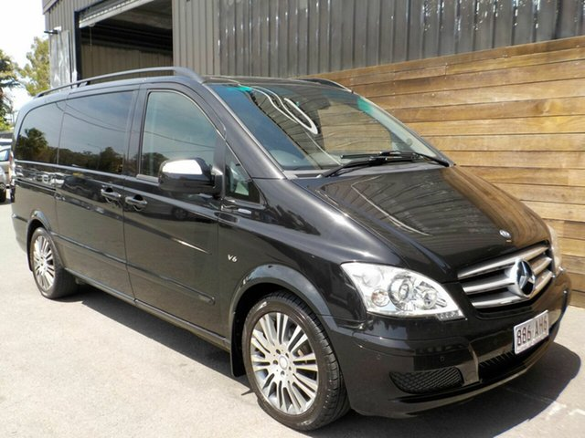 Used Mercedes-Benz Viano 639 MY12 BlueEFFICIENCY Labrador, 2012 Mercedes-Benz Viano 639 MY12 BlueEFFICIENCY Black 5 Speed Automatic Wagon