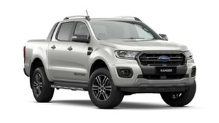 2020 Ford Ranger PX MkIII 2021.25MY Wildtrak Alabaster White 10 Speed Sports Automatic