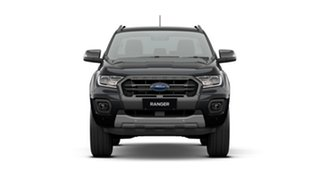 2020 Ford Ranger PX MkIII 2021.25MY Wildtrak Black 10 Speed Sports Automatic Double Cab Pick Up.