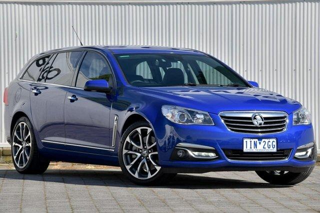 Used Holden Calais VF II MY16 V Sportwagon Dandenong, 2016 Holden Calais VF II MY16 V Sportwagon Blue 6 Speed Sports Automatic Wagon