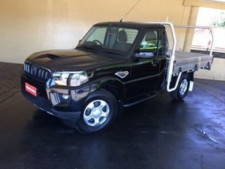 2019 Mahindra Pik-Up S6 2WD Black 6 Speed Manual Cab Chassis