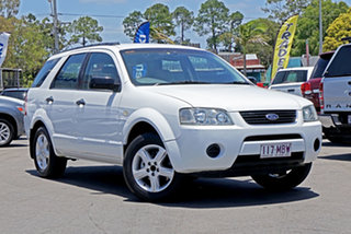 2004 Ford Territory SX TS Winter White 4 Speed Sports Automatic Wagon.