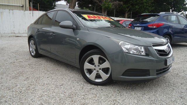 Used Holden Cruze JG CD Seaford, 2009 Holden Cruze JG CD Grey 6 Speed Sports Automatic Sedan