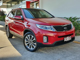 2013 Kia Sorento Platinum Red 6 Speed Automatic Wagon.